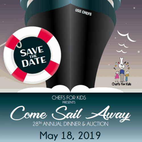 Come Sail Away - Chefs for Kids Gala 2019